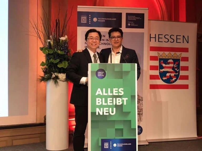 20181130-世界唯一受邀华人导师刘恭甫在德国知名创新论坛荣获各方称赞